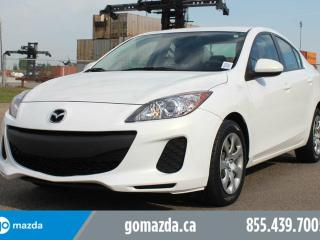 Used 2013 Mazda MAZDA3 GX A/C 1 OWNER LOCAL ACCIDENT FREE for sale in Edmonton, AB