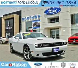 Used 2016 Dodge Challenger SXT | ALPINE SPEAKERS | NAV | LOW KM | for sale in Brantford, ON