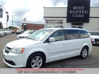 Used 2016 Dodge Grand Caravan Crew Plus | LEATHER | REAR CAMERA for sale in Kitchener, ON
