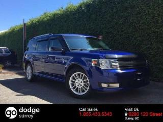 Used 2014 Ford Flex SEL AWD+NAVIGATION+LEATHER+ROOF+ BACK-UP CAM for sale in Surrey, BC