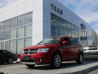 Used 2016 Dodge Journey R/T, 3.6L V6, Leather, Remote Start, Accident Free, for sale in Edmonton, AB