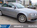 Used 2008 Audi A4 2.0T QUATTRO SUNROOF LOW KM for sale in Edmonton, AB