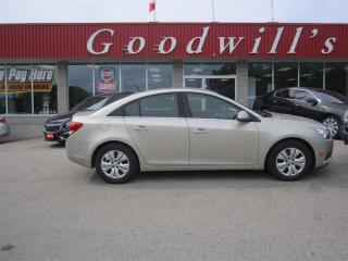 Used 2014 Chevrolet Cruze 1LT! CLEAN CARPROOF! FACT. REMOTE START! for sale in Aylmer, ON