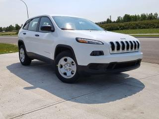 Used 2017 Jeep Cherokee DEMO SPECIAL / Sport 4x4 / Rear Back Up Camera for sale in Edmonton, AB