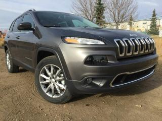 Used 2017 Jeep Cherokee Limited 4x4 Rear Back Up Camera / Heated Front Seats & Steering Wheel for sale in Edmonton, AB