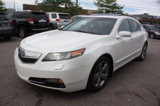Used 2013 Acura TL w/Tech Pkg ORANGE LEATHER for sale in North York, ON