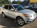 Used 2010 Hyundai Santa Fe LIMITED for sale in Scarborough, ON