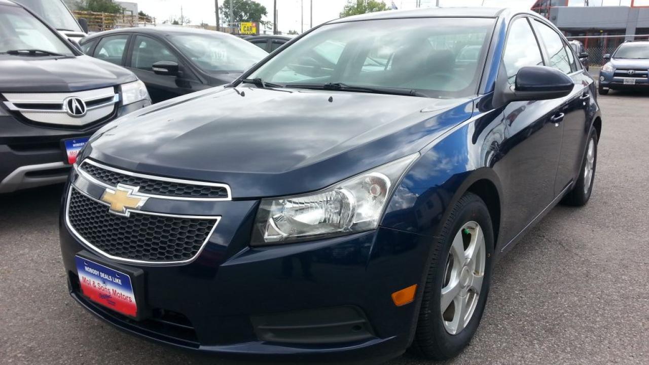 2011 Chevrolet Cruze LT Turbo, Accident Free, Alloys, Bluetooth