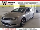 Used 2016 Chrysler 200 C|NAVIGATION|SUNROOF|LEATHER|30,779 KMS for sale in Cambridge, ON