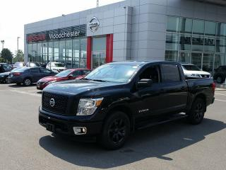 Used 2017 Nissan Titan Crew Cab S 4X4 for sale in Mississauga, ON