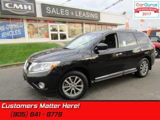 Used 2015 Nissan Pathfinder SL  4X4, LEATHER, PANORAMIC ROOF, NAVIGATION, 7 PASS. for sale in St Catharines, ON