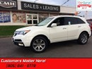 Used 2013 Acura MDX Elite  AWD, LEATHER, NAVI., HS & CS, SUNROOF, BT for sale in St Catharines, ON