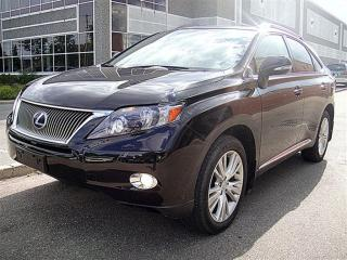 Used 2010 Lexus RX 450h Hybrid,Navigation,Toyota Safety for sale in Aurora, ON