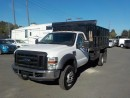 Used 2008 Ford F-550 Regular Cab Dually 2WD Dump Box for sale in Burnaby, BC