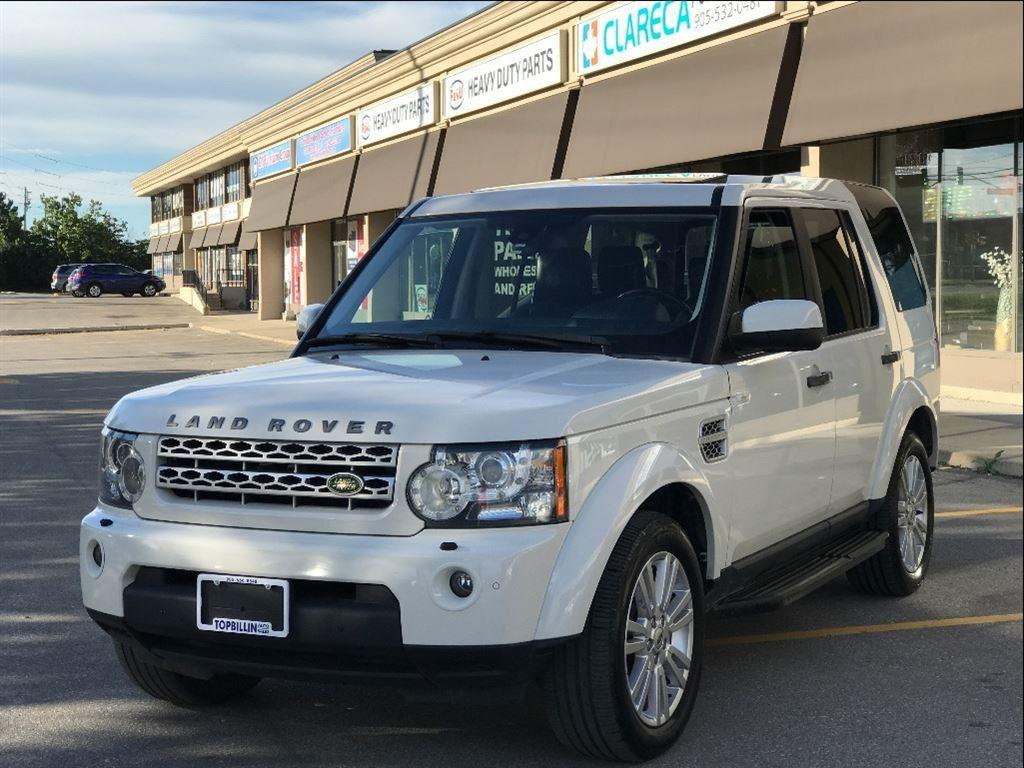 used 2010 land rover lr4 navigation dual sunroof 2 years warranty for sale in concord ontario. Black Bedroom Furniture Sets. Home Design Ideas