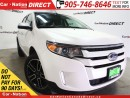 Used 2014 Ford Edge SEL| LEATHER| DUAL SUNROOF| NAVI| LOW KM'S| for sale in Burlington, ON