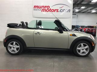 Used 2009 MINI Cooper Convertible for sale in St George Brant, ON