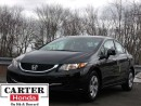 Used 2014 Honda Civic LX + LOW KMS + ACCIDENT FREE + CERTIFIED! for sale in Vancouver, BC