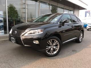 Used 2013 Lexus RX 350 One owner,Touring Nav for sale in Surrey, BC