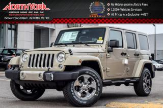 New 2017 Jeep Wrangler Unlimited New Car Sahara|4x4|Cnnctvty,LED,DualTopPkgs|Nav|18