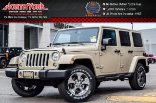New 2017 Jeep Wrangler Unlimited New Car Sahara|4x4|Cnnctvy,LED,DualTopPkgs|Nav|R.Start|18