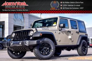 New 2017 Jeep Wrangler Unlimited New Car Willy's Wheeler |4x4|LightingPkg|Alpine|AC|17