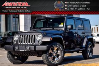 New 2017 Jeep Wrangler Unlimited New Car Sahara |4x4|Manual|Connect.,LEDPkgs|Nav|AC|18