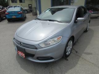 Used 2015 Dodge Dart 'GREAT VALUE' POWER EQUIPPED SE MODEL 5 PASSENGER 2.0L - TURBO ENGINE.. CD/AUX/USB INPUT.. KEYLESS ENTRY.. for sale in Bradford, ON