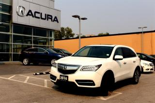 Used 2016 Acura MDX NAVI for sale in Langley, BC