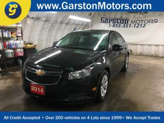 Used 2014 Chevrolet Cruze LT*TURBO*BACK UP CAMERA*KEYLESS ENTRY w/REMOTE START*MY LINK PHONE* for sale in Cambridge, ON