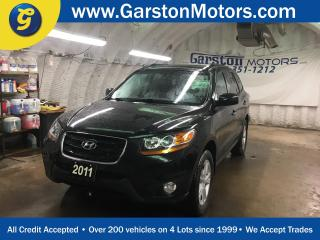 Used 2011 Hyundai Santa Fe LIMITED*AWD*LEATHER*POWER SUNROOF*INFINITY AUDIO*DUAL ZONE CLIMATE CONTROL*HEATED FRONT SEATS*POWER WINDOWS/LOCKS/MIRRORS*POWER FRONT SEATS*PHONE CONNECT*TRACTION CONTROL*FOG LIGHTS*ALLOYS*ROOF RAILS*AM/FM/XM/CD/AUX/USB*KEYLESS ENTRY w/REMOTE START* for sale in Cambridge, ON