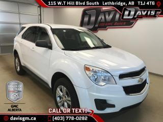 Used 2014 Chevrolet Equinox AWD, Bluetooth, Sirius XM for sale in Lethbridge, AB