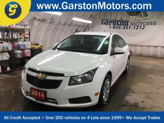 Used 2014 Chevrolet Cruze LT*BACK UP CAMERA*KEYLESS ENTRY w/REMOTE START*MY LINK PHONE*AM/FM/XM/CD/AUX/USB/BLUETOOTH* for sale in Cambridge, ON