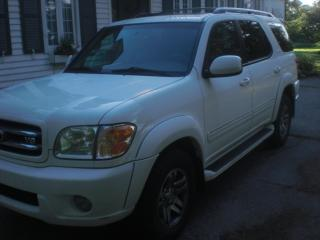Used 2003 Toyota Sequoia Limited  Leather for sale in Mansfield, ON