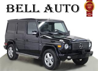 Used 2008 Mercedes-Benz G-Class NAVIGATION SUNROOF REAR CAM for sale in North York, ON