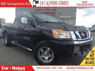 Used 2012 Nissan Titan SV CHROME WHEELS  4X4  BACK SENSORS  TOW PACKAGE for sale in Georgetown, ON