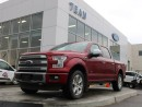 Used 2015 Ford F-150 Platinum 4x4 SuperCrew Cab 5.5 ft. box 145 in. WB for sale in Edmonton, AB