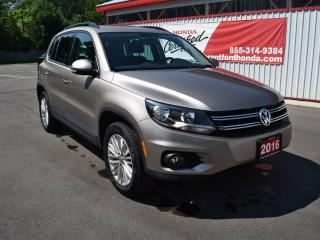 Used 2016 Volkswagen Tiguan Special Edition 4dr All-wheel Drive 4MOTION for sale in Brantford, ON