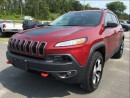 Used 2017 Jeep Cherokee Trailhawk - Dual Pane Sunroof - Nav for sale in Norwood, ON