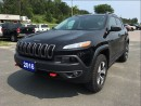 Used 2016 Jeep Cherokee Trailhawk - Dual Pane Sunroof - Heated Leather for sale in Norwood, ON