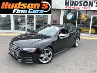 Used 2013 Audi S5 3.0T Premium+NAVI+6SPDMANUAL+RED INTERIOR+SUNROOF for sale in North York, ON
