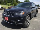 Used 2016 Jeep Grand Cherokee Limited - Sunroof - Heated Leather for sale in Norwood, ON