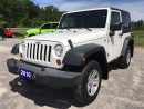 Used 2010 Jeep Wrangler Sport - Automatic - Hard Top for sale in Norwood, ON