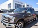 Used 2015 Ford F-150 Lariat 4x4 SuperCrew Cab 5.5 ft. box 145 in. WB for sale in Peace River, AB