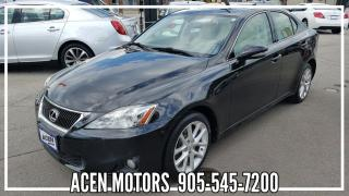 Used 2013 Lexus IS 250 AWD- ONE OWNER for sale in Hamilton, ON