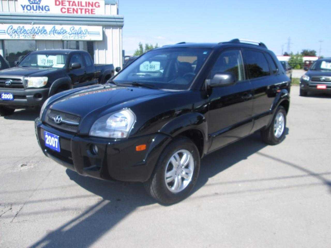 Photo of Black 2007 Hyundai Tucson GLS