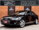 Used 2013 Audi A4 2.0T Premium Plus+Navigation+Led+Xenon+Push start for sale in North York, ON