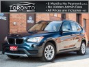 Used 2014 BMW X1 28i+Premium+Pano Roof+Smart access+Power seats+ for sale in North York, ON