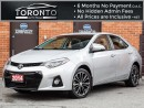 Used 2014 Toyota Corolla S+Tech Pkg+Navi+Leather+Roof+Push start for sale in North York, ON