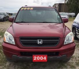 Used 2004 Honda Pilot EX-L  4x4 for sale in Brunkild, MB